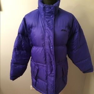 LL Bean Down Coat - Women's Small